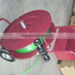 steel strapping dispenser cart