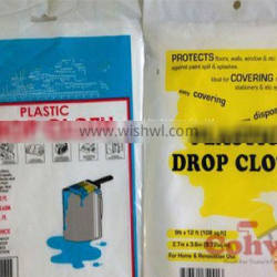 Dust Sheet Cover, Prep-Tool, Plastic Drop Cloth