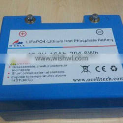 12.8V16Ah LiFePO4 Battery for Golf Trolley / IFM12-160E2