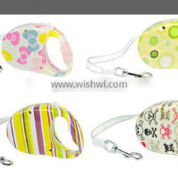 Small Dog Colorful Retractable Leashes, 3m Automatic Traction Belt 1/3