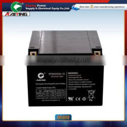 UPS Battery 12V24A Rechargeable Lead Acid Battery Free Maintenance Type