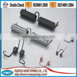 High quality small stainless steel torsion springs for sale