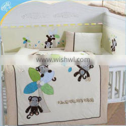 European baby crib beding set