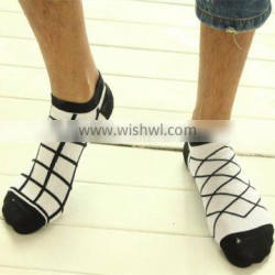 2015 low cut cotton fashion sport socks men, socks manufacturer, tennis socks