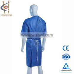 100% Polypropylene Spunbond Nonwoven Fabric Patient Gown