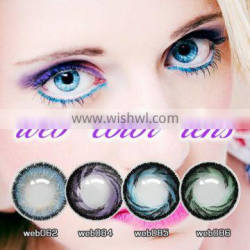 newest wholesale barbie pink colorful contact lenses