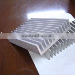 polishing aluminum extrusion profile for electron radiator profile