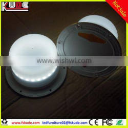 rechargeable battery operated RGB LED light base for LED furniture lighting