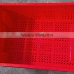 HDPE HOT SALE Stack and Nest plastic crate S-003