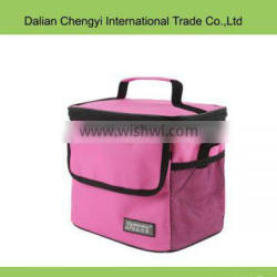 Wholesale tactical non-woven picnic insulted cooler bag with mesh pocket
