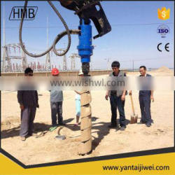 ISO9001 CE Approved Earth soil Auger/TORQUE EARTH DRILL for sale