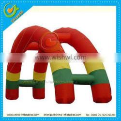 Colorful advertising inflatables arch for promotion