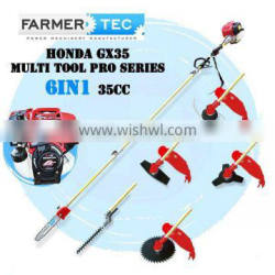 4 stroke Original Honda GX35 Engine 6 in 1 Multi Brush Cutter