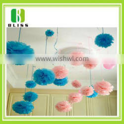 New Hot Sale colorful paper flower wedding garland