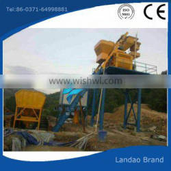 Greatly welcomed small industrial automatic concrete mixing plant