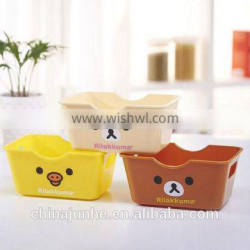 Hot sale Plastic cartoon storage box