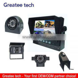 car rearview camera system for vehicle backup 4-CH inputs