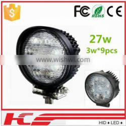 27w Spot beam Offroad 12v/24v Led Work Light Bar