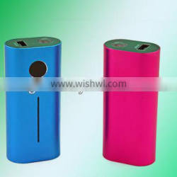 LED torch portable charger lithium battery universal USB charger