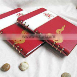 hotsale leather Elegant menu cover