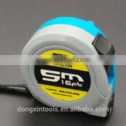 3m 5m 7.5m 10 m two locks abs plastic case steel tape measure