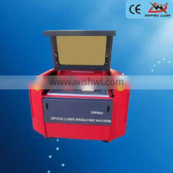 2016 designed mixed laser cutting machine with double heads and reci power supply of Dowell