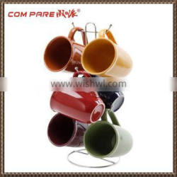High quality chrome plated coffee cup holder