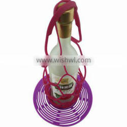 Fancy silicone wine bottle gift baskets