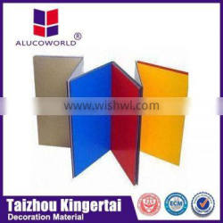 Advanced construction materials Alucoworld special shape insulated waterproof light weight composite panel