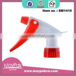 red color 28/410 high quality new design for cleaning plastic trigger sprayer