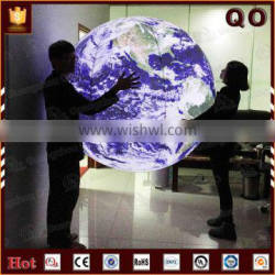 High quality party decoration inflatable earth globe
