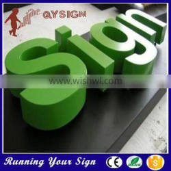 Outdoor Anti-rust Galvanized Metal Letter Signs for Sale