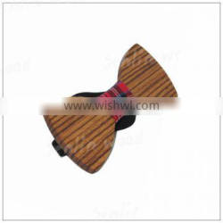 Handmade Natural Wooden Bow Tie for Men