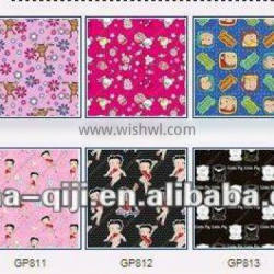 65%polyester 35%cotton printed art canvas printing