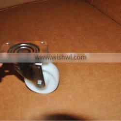 "stainless steel Nylon caster 4"", swivel , without brake"