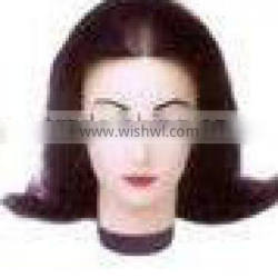 2012 hot sale kinds of size 100%human hair training head