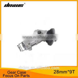 China Supplier 52CC Brush Cutter pare Parts 28mm 9T Gear Case