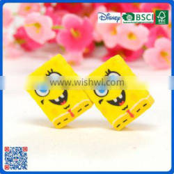 2016 School supplies yellow erasers for kids