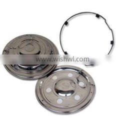 17.5''truck wheel cover iveco S/S Front and Rear plain wheel trim for bus