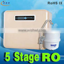 5 stage 50GPD pure water drinking ro easy using tap water filter