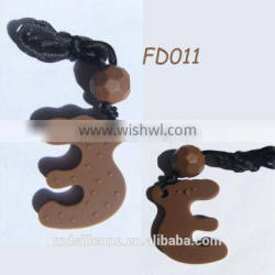 Factory Supply wholesale Chewable Food-safe Fashion mother and child pendant