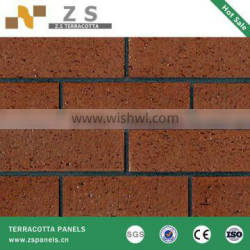 tiles architectural facade terracotta wall siding dry hanging system exterior wall terracotta tiles ceramic panel