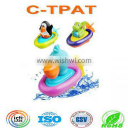 non-toxic plastic floating bath toys for baby