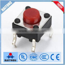 6*6*5 on-off tact switch any height tact switch from 4.3H to 22H tact switch
