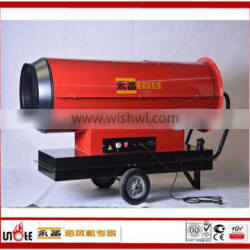 air output 115kw diesel heater for building project