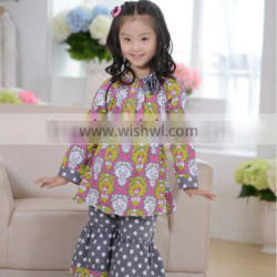 baby girls clothing set boutique print baby clothes childrens girls thanksgiving outfit