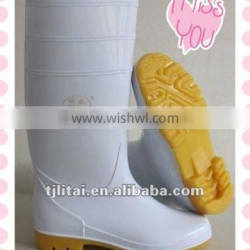 2015 safety rain boots with steel toe,working boots and shoes ,construction PVC rain boots