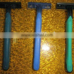 2014 year hot selling twin blade high quality disposable shaving razor for hotel