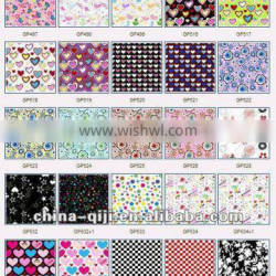 65%polyester 35%cotton printed canvas cute fabric printing