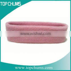 design your own custom names cotton polyester fabric hair sweatband